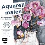 Aquarell malen - Motive inspiriert von der Natur (Mängelexemplar)