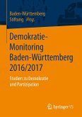 Demokratie-Monitoring Baden-Württemberg 2016/2017 (eBook, PDF)