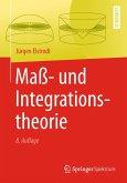 Maß- und Integrationstheorie (eBook, PDF)