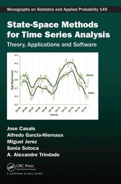 State-Space Methods for Time Series Analysis (eBook, PDF) - Casals, Jose; Garcia-Hiernaux, Alfredo; Jerez, Miguel; Sotoca, Sonia; Trindade, A. Alexandre