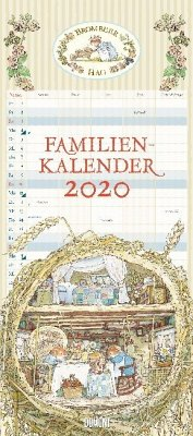 Brombeerhag Familienkalender 2020 - Brambly Hedge - Familien-Planer mit 5 Spalten