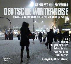 Deutsche Winterreise, 1 Audio-CD - Weiller, Stefan