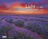 Licht in der Landschaft 2020 - Wandkalender 58,4 x 48,5 cm - Spiralbindung