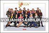 Rote Rosen 2020 - Broschürenkalender - Wandkalender - mit Jahresplaner