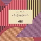 Immerwährender Geburtstagskalender grafisch - Haferkorn & Sauerbrey - Quadrat-Format