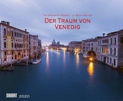 Der Traum von Venedig 2020 - Wandkalender 58,4 x 48,5 cm - Spiralbindung - Dumont Kalenderverlag