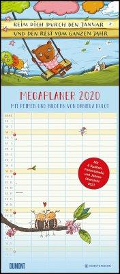 Mega-Familienkalender 2020 Reim dich durchs Jahr