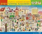 Wimmel-Kalender 2020 - DuMont Kinderkalender - Wandkalender 58,4 x 48,5 cm - Spiralbindung