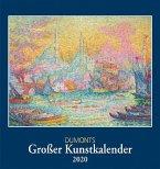 DuMonts Großer Kunstkalender 2020 - Klassische Moderne, Impressionisten, Expressionisten - Wandkalender Format 45 x 48 cm