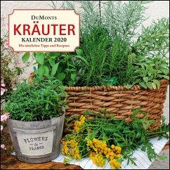 DuMonts Kräuter-Kalender 2020 - Broschürenkalender - mit Texten und Rezepten - Bühring, Ursel