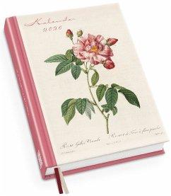 Redoutés Rosen Taschenkalender 2020 - Terminplaner mit Wochenkalendarium - Format 11,3 x 16,3 cm