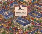 Pierre, der Irrgarten-Detektiv 2020 - 12 Wimmel-Such-Bilder - DUMONT Kinder-Kalender - Querformat 52 x 42,5 cm - Spiralbindung