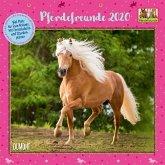 Pferdefreunde 2020 - Broschürenkalender - Kinder-Kalender