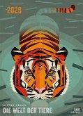Dieter Braun: Die Welt der Tiere 2020 - Wandkalender - Poster-Format