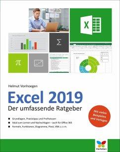 Excel 2019 (eBook, PDF) - Vonhoegen, Helmut