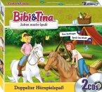 Bibi & Tina - Zelten macht Spaß!, 2 Audio-CDs