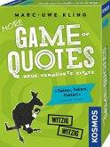 KOSMOS 693145 - More Game of Quotes, weitere verrückte Zitate, Kartenspiel