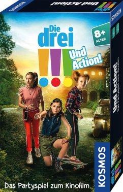 Die drei !!! - Und Action! Mitbringspiel zum Film (Kinderspiel)