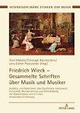 Friedrich Wieck - Gesammelte Schriften über Musik und Musiker