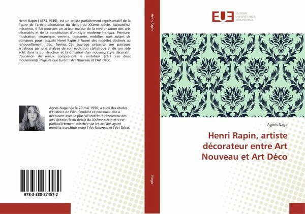 Henri Rapin, artiste décorateur entre Art Nouveau et Art Déco von ...