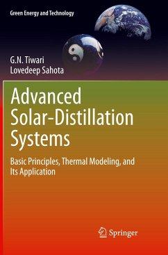 Advanced Solar-Distillation Systems - Tiwari, G. N.; Sahota, Lovedeep