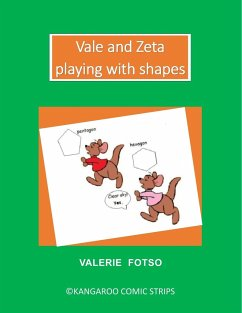 Vale and Zeta Playing with Shapes - Fotso, Valerie