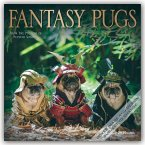 Fantasy Pugs - Phantasievolle Möpse 2020 - 16-Monatskalender