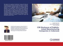 CSR Disclosure of Publicly-Listed Manufacturing Companies in Indonesia