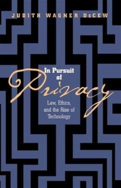 In Pursuit of Privacy (eBook, PDF)