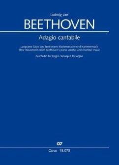 Adagio cantabile, Orgelbearbeitungen - Beethoven, Ludwig van