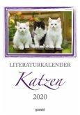 Literaturkalender Katze 2020 - Wochenkalender