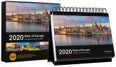 Tischkalender Best of Europe 2020