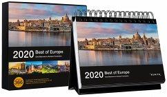 Best of Europe 2020, Tischkalender