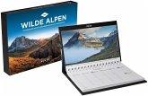 Wilde Alpen Tischkalender 2020