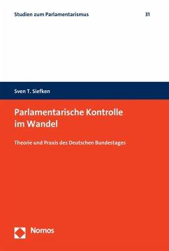Parlamentarische Kontrolle im Wandel (eBook, PDF) - Siefken, Sven T.