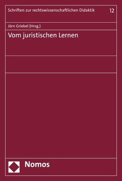 Vom juristischen Lernen (eBook, PDF)