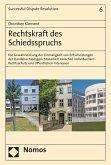 Rechtskraft des Schiedsspruchs (eBook, PDF)