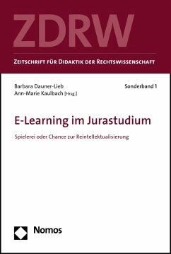 E-Learning im Jurastudium (eBook, PDF)