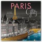Paris Glitz - Glitzerndes Paris 2020 - 16-Monatskalender