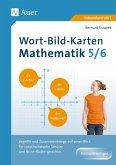 Wort-Bild-Karten Mathematik Klassen 5-6