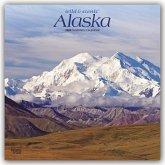 Alaska Wilderness - Wildnis in Alaska 2020 18-Monatskalender