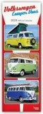 Volkswagen Camper Vans - VW Busse 2020 Slimline Calendar