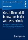Geschäftsmodellinnovation in der Antriebstechnik (eBook, PDF)