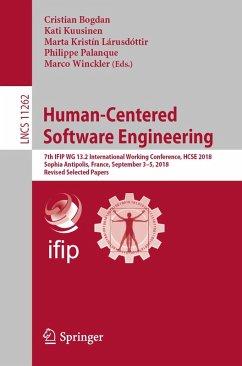 Human-Centered Software Engineering (eBook, PDF)