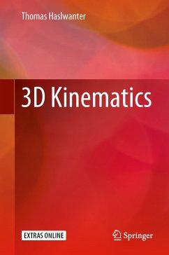 3D Kinematics (eBook, PDF) - Haslwanter, Thomas