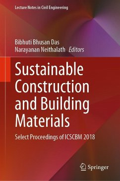 Sustainable Construction and Building Materials (eBook, PDF)