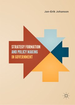 Strategy Formation and Policy Making in Government (eBook, PDF) - Johanson, Jan-Erik