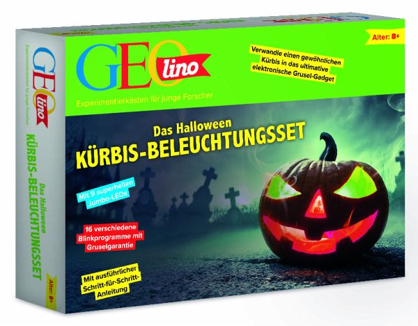 GEOlino Das Halloween Kürbis-Beleuchtungsset (Experimentierkasten)