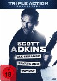 Scott Adkins Triple Action Collection DVD-Box