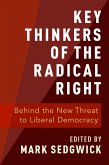 Key Thinkers of the Radical Right (eBook, PDF)